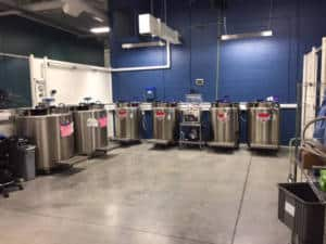 Cryogenic Liquid Nitrogen Freezers